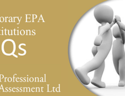EPA Temporary Substitutions – Frequently Asked Questions